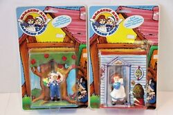 1988 Raggedy Anne And Andy Playhouse Dolls. Macmillian Set Of 2