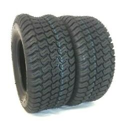 Two 23x9.50-12 Tractor Lawn 23x950-12 4 Ply Rated Lawn Mower Set Of Two Tires