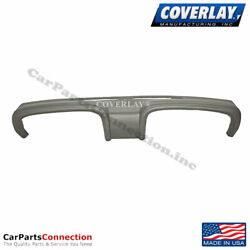 Coverlay - Dash Board Cover Taupe Gray A/c Speaker Holes 12-110-tgr For Mustang