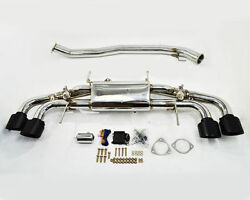AGENCY POWER VALVE CONTROLLED 90MM CATBACK EXHAUST FOR 09 - 16 NISSAN GTR R35 MB