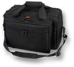 Bulldog Cases Deluxe Range Bag Extra-Large with Pistol Rug Black
