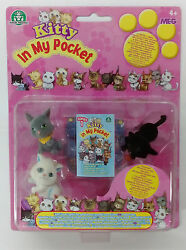 MEG 2005-2008 KITTY IN MY POCKET SERIES 1 EUROPEAN BRAND NEW MOC MOSC #7