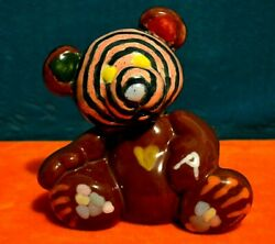 Painting Ceramic Art Bear Oso: Franklin's Redemption Original Samuel Abney
