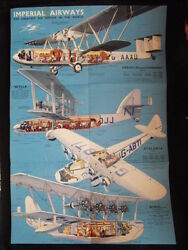 Affiche Impandeacuterial Airways The Greatest Air Service In The World Original Severin