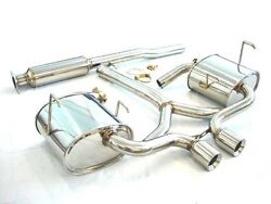 Megan Racing Oe-rs Cat Back Exhaust System For 02-03 Mini Cooper S R53 Only
