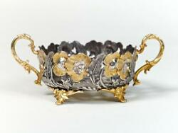 Silver Plate Bowl For Sweets 476