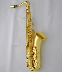 Customized 54 Reference Tenor Saxophone Sax Original Brass Surface With Case