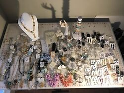 Costume Jewelry Mixed Necklaces, Earings, Bracletes, Brooches