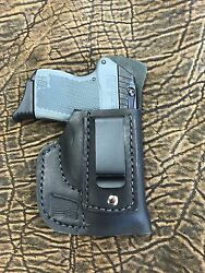 Black Leather Holster for Kel-Tec IWB  Made in USA