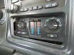 2003 2004 Chevy Avalanche 1500 TEMPERATURE CLIMATE CONTROL AC Rear Defrost