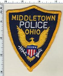 Middletown Police Ohio Uniform Take-off Shoulder Patch From 1982