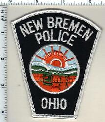 New Bremen Police Ohio Shoulder Patch From 1991