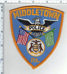 Middletown Police Pennsylvania 1st Issue Shoulder Patch New From The 1980's