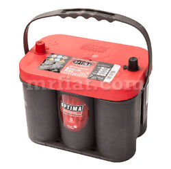 Lancia Stratos Optima Red Top Battery 50 Ah New
