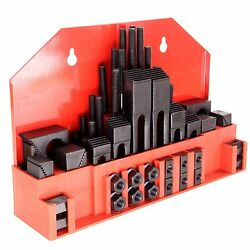 HFS Brand 58pc 58'' Slot 12''-13 Stud HOLD DOWN CLAMP CLAMPING SET KIT