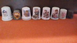 Collectible Thimbles Lot Of 29 Price Reduced