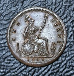 1902 Great Britian - One Penny - Lauer Toy Coins Nurnberg, Germany Nice - 13mm