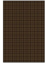 Bit Oand039 Scotch Bark Brown Indoor Plaid 26 Oz Stainmaster Nylon Cut Pile Area Rug