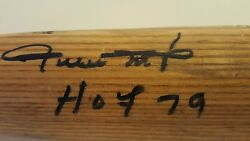 WILLIE MAYS' PSA AUTOGRAPH VERIFIED PERSONALLY USED SPRING TRAINING PRO BAT.