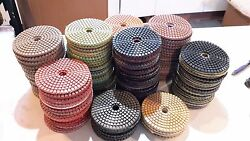 Stadea 4 Diamond Polishing Pads Wet For Marble Concrete And Granite Pack Of 160