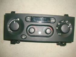 99-04 JEEP GRAND CHEROKEE CLIMATE AC HEATER CONTROL