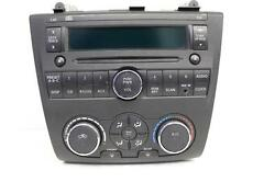 2009-2012 NISSAN ALTIMA  RADIO STEREO CD PLAYER  W CLIMATE CONTROL 28185 JA000