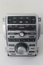 2005-2008 Acura Rl Xm Radio Stereo Mp3 Dvd 6 Disc Cd Player W/ Climate