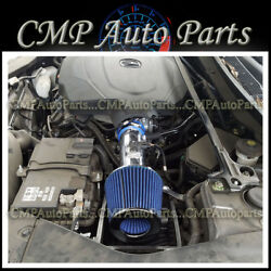 Blue Air Intake Kit System For 2015-2018 Acura Tlx 3.5 3.5l V6 Engine