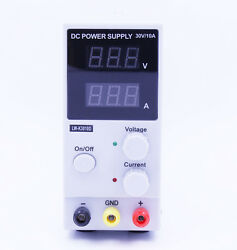 Adjustable Digital Switching DC Lab Power Supply 30V 10A For Laptop Phone Repair