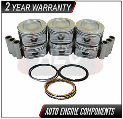 Piston And Ring Set Fits Chrysler Imperial New Yorker 3.8 L Vin L - Size Std