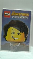LEGO: The Adventures of Clutch Powers DVD 2015 $5.99