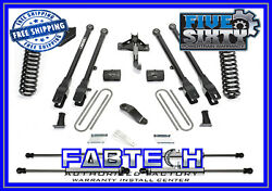 Fabtech K2216m 4 4 Link Systems W/stealth Shocks For 2017 Ford F250/f350 4wd
