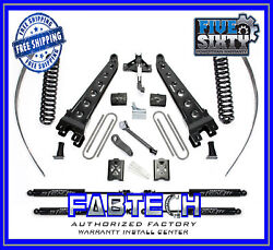 Fabtech K2015m 8 Radius Arm System W/ Stealth Shock For 05-07 F250 4wd