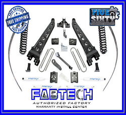 Fabtech K20151 8 Radius Arm System W/ Per. Shock For 05-07 F250 4wd W/ Overload
