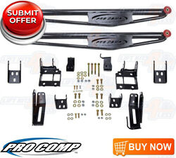 Pro Comp Lateral Traction Bars & Mount Kit for 1999-07 Chevy Silverado 1500 4WD