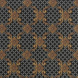 Queen Anne Black Pattern Indoor 26 Oz Stainmaster Nylon Cut Pile Area Rug