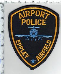 Eppley Airfield Airport Police Nebraska Shoulder Patch From The 1980's - Rare