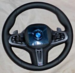 Bmw G30 G11 G12 5 And 7 G01 X3 M Sport Leather Steering Wheel Heated Sport Auto
