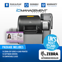 Zebra Zxp Series 9 Single-sided Re-transfer Id Card Printer Andbull Free Uk Delivery