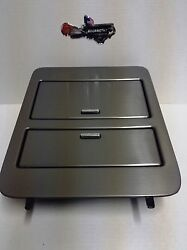 23164630 Brushed Metal Console Cup Holder Storage Full Size Gm Trucks And Suvand039s