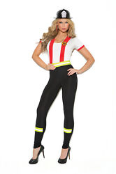 Fire Fighter Costume - Plus And Regular Sizes Adult Woman