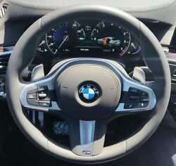 Bmw G30 G11 G12 5 And 7 Series G01 M Sport Leather Steering Wheel Sport Auto Trans