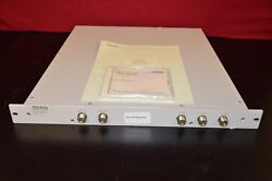 Anritsu Mn7465a Rf Switch Unit With Manual And Performance Test Sheets