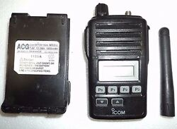 Icom F50v Vhf Portable Radio Tested 100 Working Narrowband Fire Pager Police