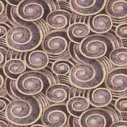 Wound Up Swirl Plum Pattern Indoor 26 Oz Stainmaster Nylon Cut Pile Area Rug