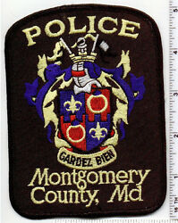 Montgomery County Police Maryland Uniform Take-off Shoulder Patch