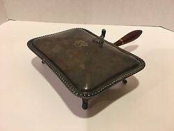 Vintage Epca Silver By Poole 25 Silent Butler Crumb Tray