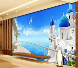 Pigeons And Castles 3d Full Wall Mural Photo Wallpaper Printing Home Kids Decor