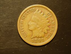 1891 One Indian Head Cent 10