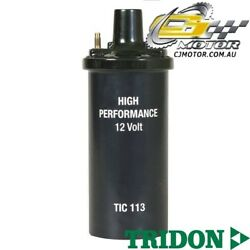 Tridon Ignition Coil For Ford Falcon-6cyl Xd-alloy Head7/80-2/8263.3l4.1l